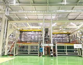 航空機部品用自動表面処理装置